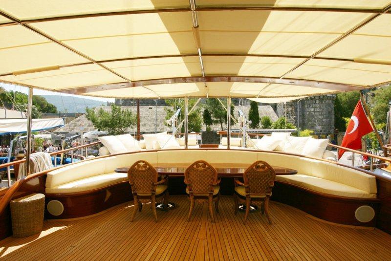 luxury gulet charter - Kaya Guneri 5 gulet