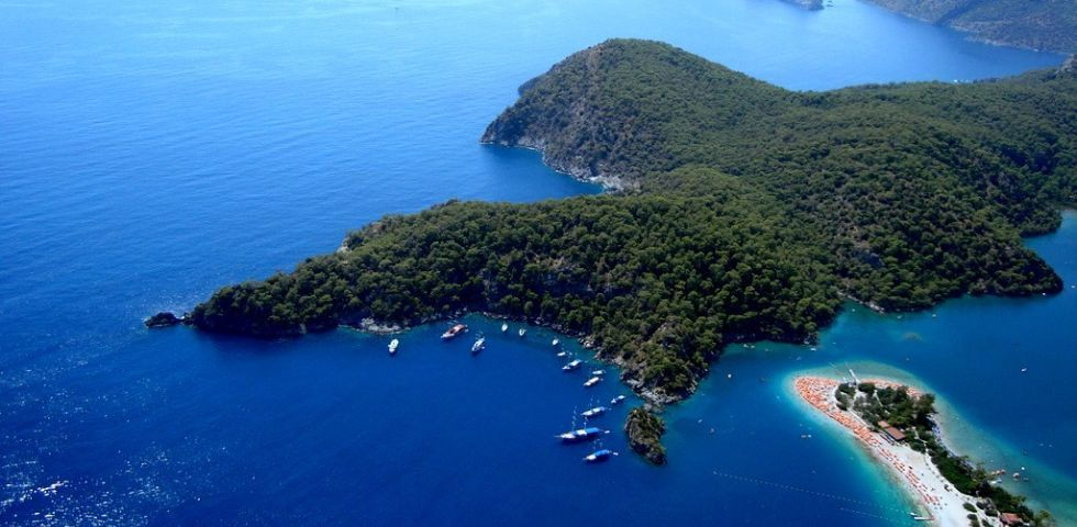 12 Islands of Gocek for yacht charter Turkey holidays