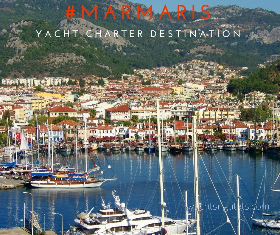 Marmaris yacht charter destination