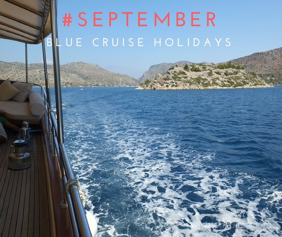 September blue cruise holidays