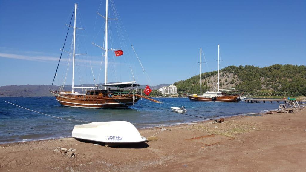 Turgut village seaside