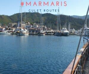 #marmaris gulet routes