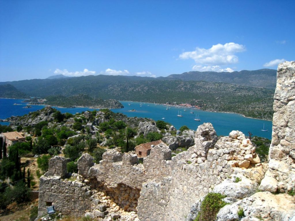 Ucagiz Kekova Turkey