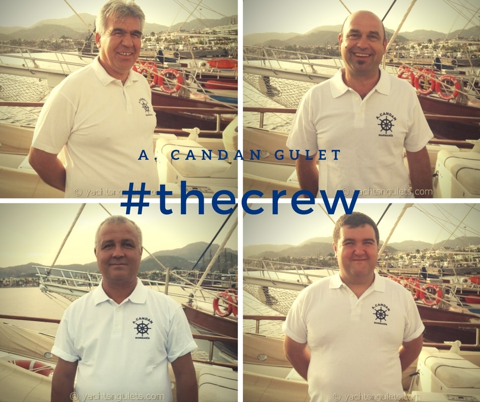 Crew of A.Candan gulet