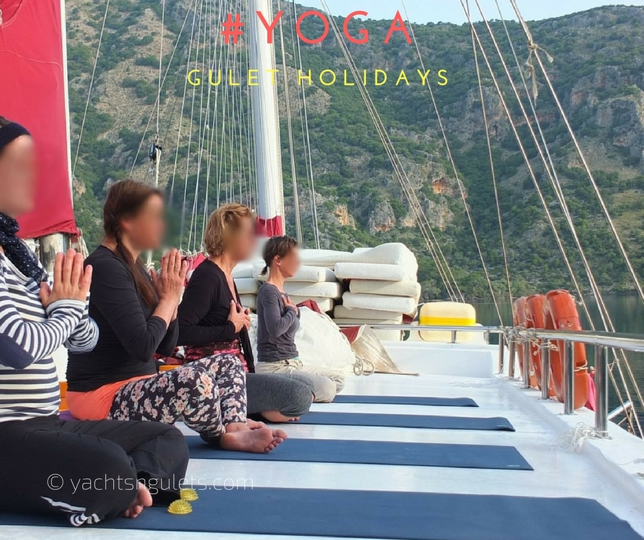 yoga gulet sailing holidays in Turkey