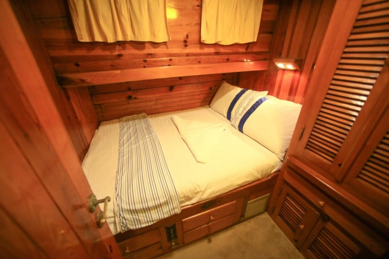 luxury gulet cabin example