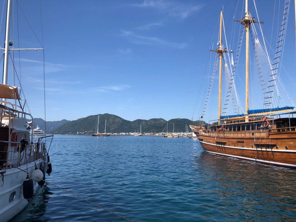 blue cruise Marmaris
