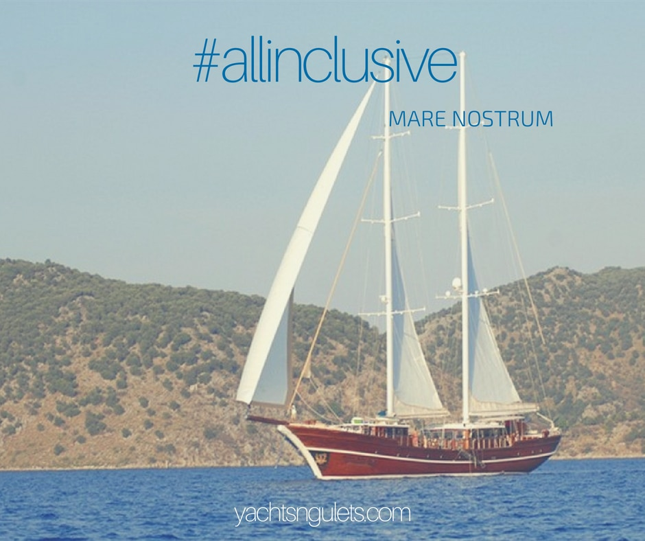 All inclusive MARE NOSTRUM gulet
