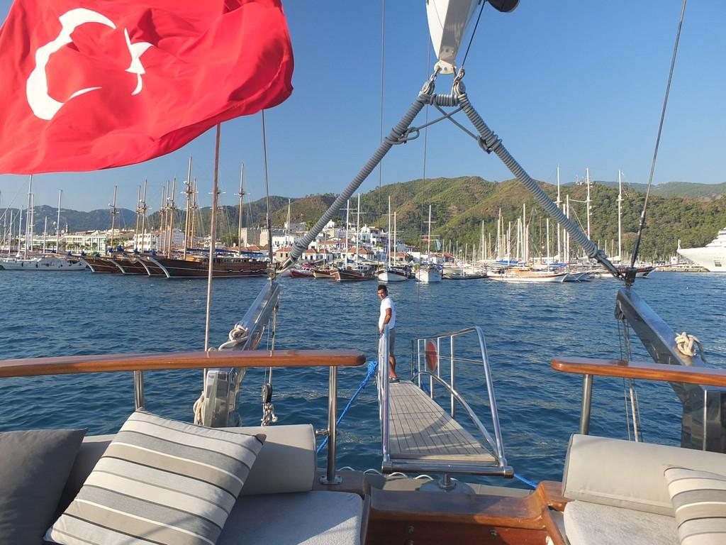 Marmaris view - K Mehmet Bugra Gulet